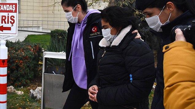 Kadir Şeker'in kurtarmaya çalıştığı Ayşe Dırla da eroin ile yakalanarak tutuklanmıştı. 👇