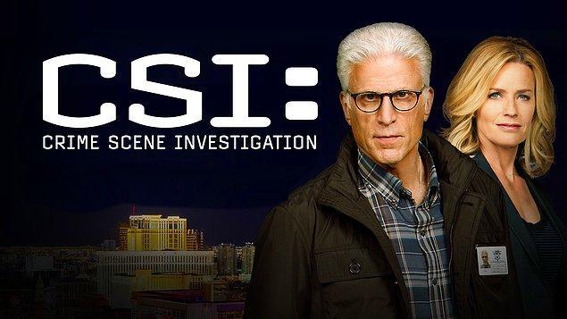 37. CSI: Crime Scene Investigation