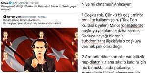 Bir Besteci, Şarkıcı Kıraç'a Milli Takım İçin Yaptığı Şarkının Neden Beğenilmediğini Tane Tane Anlattı!