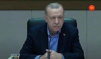Cumhurbaşkanı Recep Tayyip Erdoğan'dan Gazeteciye: 'Maskeni Çıkar'