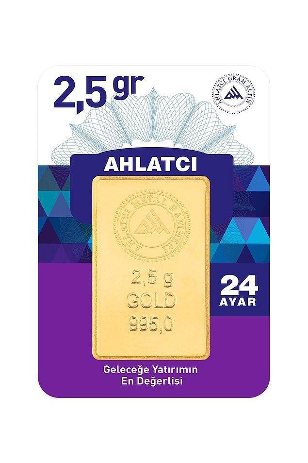 2. 24 ayar 2,5 gram altın