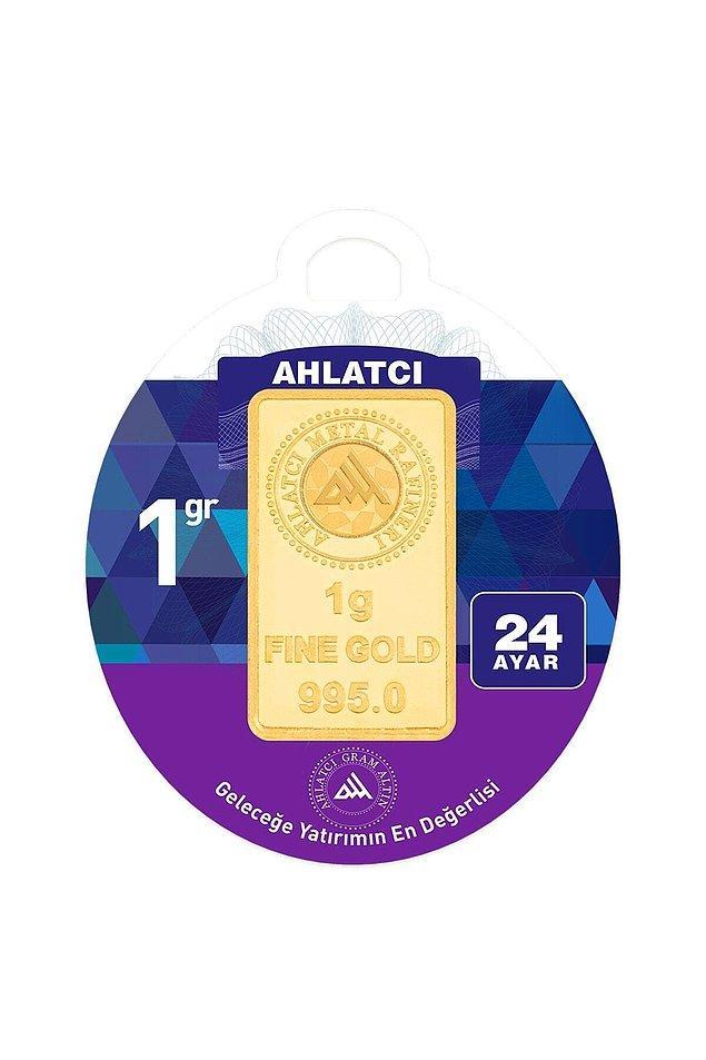 3. 24 ayar 1 gram altın