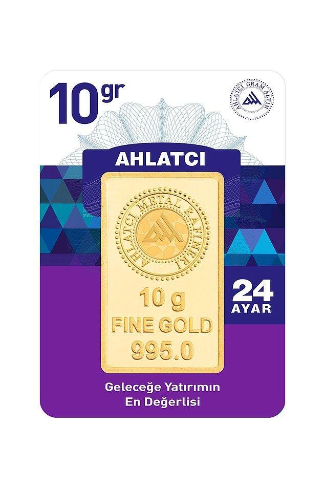 9. 24 ayar 10 gram altın