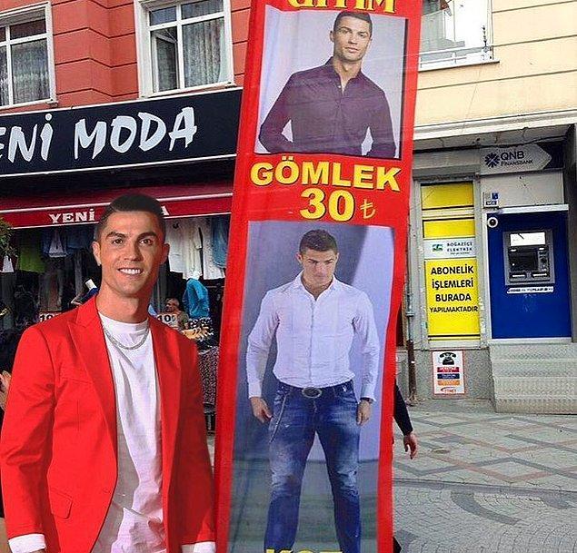 12. Ronaldo da buradan giyiniyor...