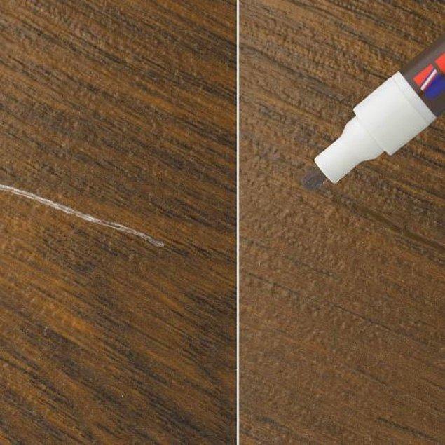 5. Çizilen mobilyaların kötü görüntüsüne tahammül edebilen var mı?