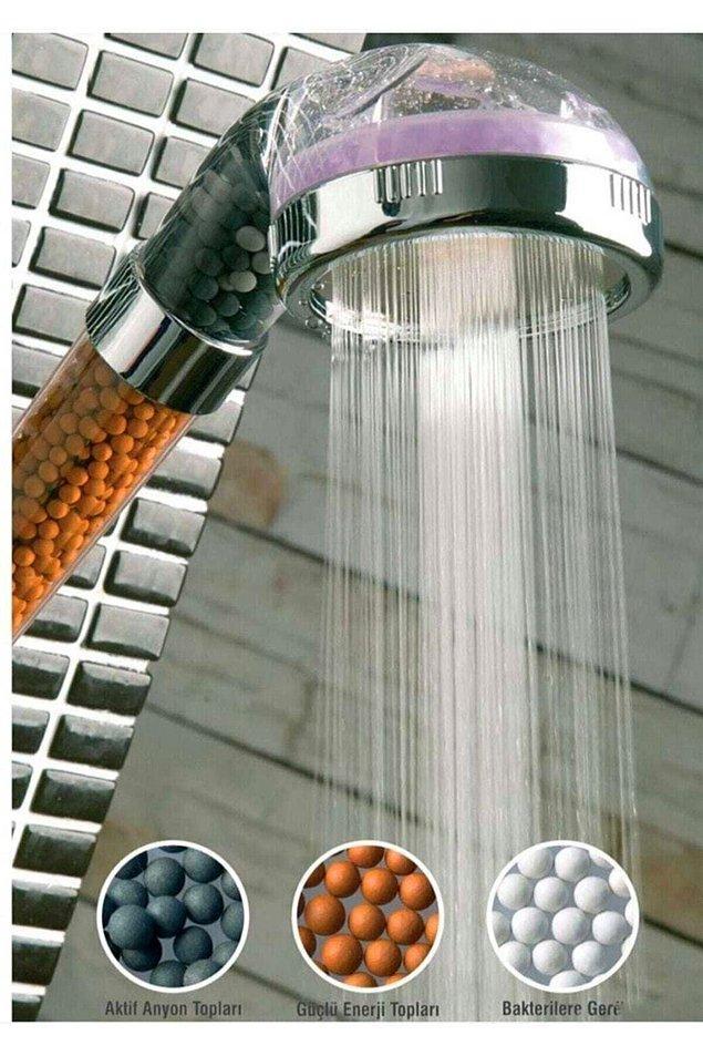 6. Banyoda biriken kireçten bıkmadık mı?