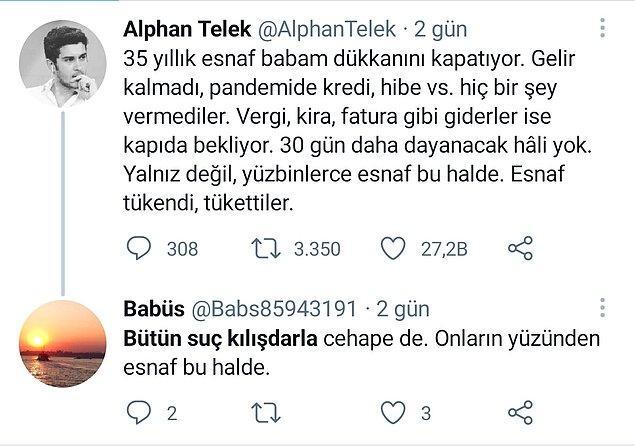 11. Neden esnafa destek paketi açıklamıyorsun Kılıçdaroğlu?