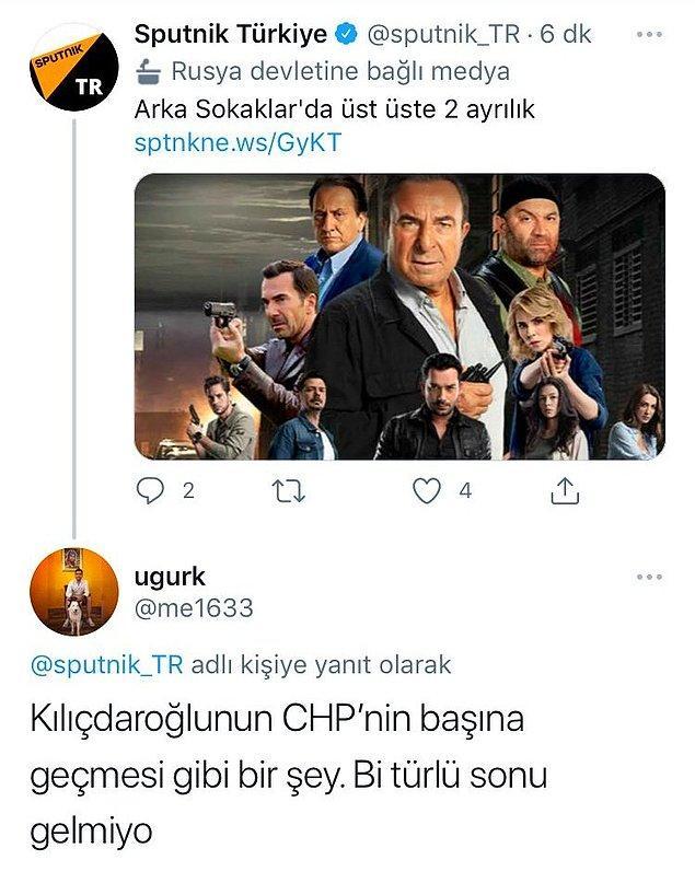 15. Arka Sokaklar'a çok acil Kılıçdaroğlu bölümü.
