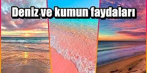 Herkesin Bilmesi Gereken Deniz ve Kumun Birbirinden Önemli 13 Faydası 🌊