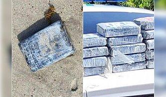 1,2 Milyon Dolarlık Kokain ABD Uzay Kuvvetleri Üssü Kıyılarına Vurdu