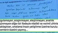 Ortaokul Öğrencisinin Sınav Kağıdında Eğitim Sistemini Eleştirdiği Yazısı Hepimizi Kahretti!