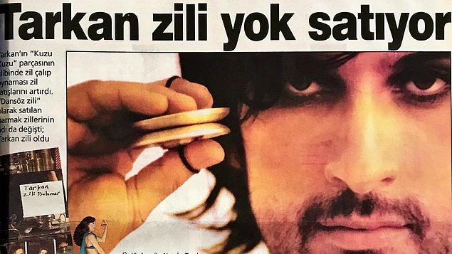 """""""Dansöz zili"""" olarak satılan parmak zillerinin adının Kuzu Kuzu şarkısıyla nasıl ''Tarkan Zili'' olarak anılmaya başlandığını da bu seride tüm detaylarıyla öğreniyoruz."""