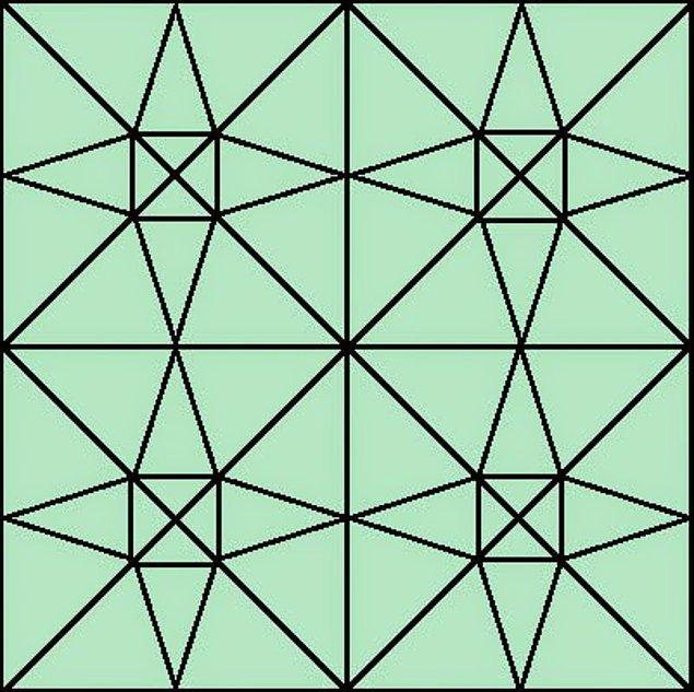 5. Görselde kaç tane üçgen var?