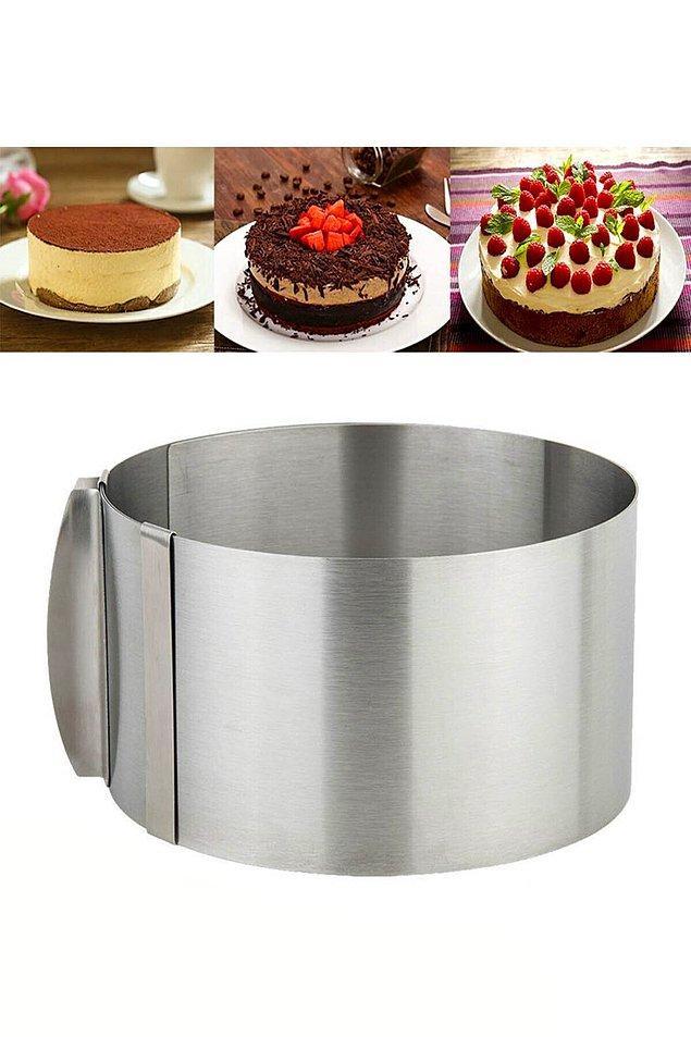 1. Hem pastalar hem kekler için...