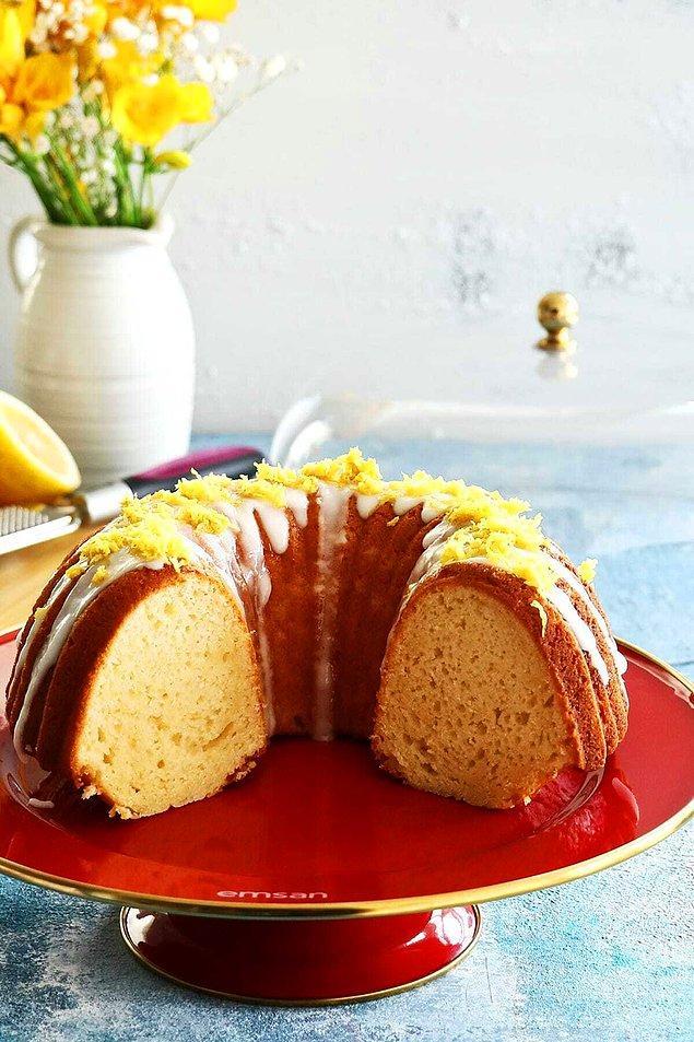 11. Şık bir kek fanusu...