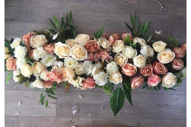 3. Ve çiçekler ekleyebilirsin...
