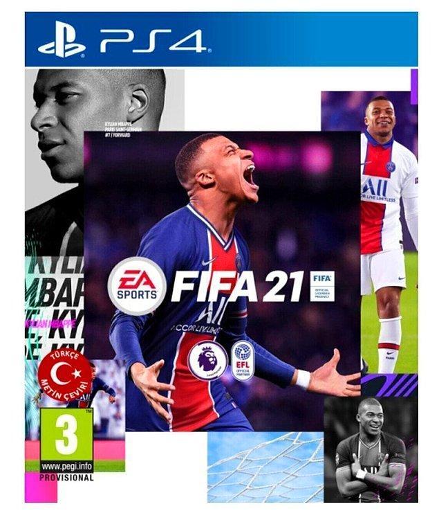 12. İşi gücü oyun oynamak olan erkeklerin en sevdiği oyun Fifa.