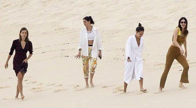 Geçtiğimiz günlerde Jenner ve Bieber birlikte Meksika'ya tatile gittiler.