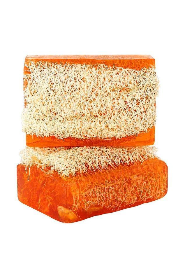 6. Doğal kabak lifli, bal ve sütlü sabun, yaşlanma etkilerine karşı da etkili.