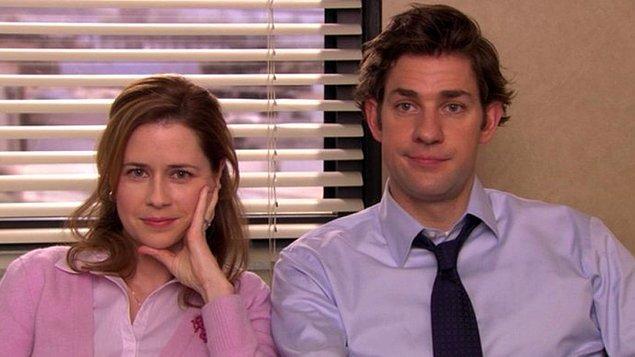 5. Jim ve Pam - The Office