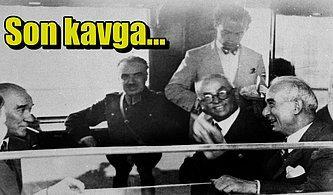 Ebedi Dostlar Atatürk ve İnönü'nün Aralarının Açılmasına Neden Olan Büyük Kavgayı Biliyor muydunuz?
