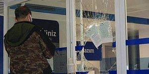 Soygunun Böylesi: Bankaya Camı Kırarak Giren Hırsızlar, 200 Lira Çalarak Kaçtılar