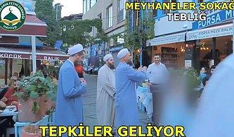 'Hayırların Fethi Derneği'nin İstanbul'da Yaptığı ve 'Büyük Tepki Gösterdiler' Başlığıyla Paylaştıkları Tebliğ