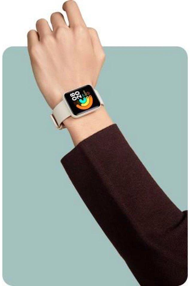 6. Ya da kullanışlı bir akıllı saate...