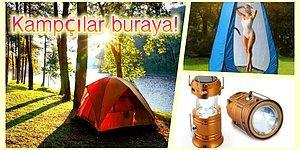 Bu Yaz Tatilini Kamp Yaparak Geçireceklerin Çok İşine Yarayacak 12 Pratik Ürün