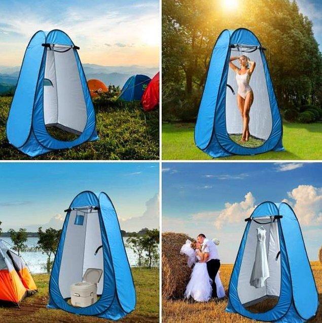 2. Kabin çadır uzun süreli tatillerin kurtarıcısı...