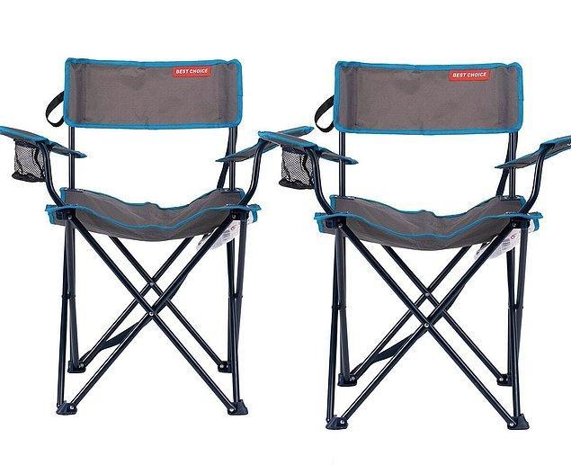 7. Ve tabii sandalye de...
