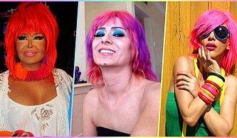 Bir Dönem Renkli Saçlarıyla Hafızalarımıza Kazınmış Farklı Tarzlarıyla Sürekli Konuşulan 13 Ünlü Kadın