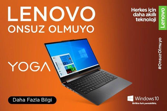 Herkes için daha akıllı teknolojiler Lenovo'da!