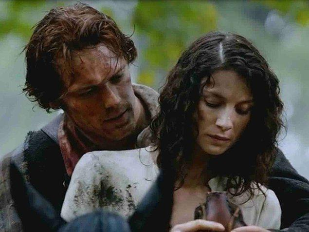 9. Claire ve Jamie - Outlander
