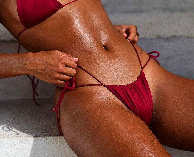 Son yıllarda bikini altları (ve çoğunlukla üstleri de) giderek küçüldü.