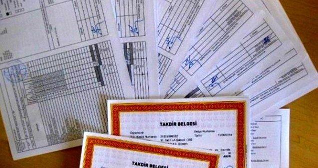 Basılı Karne Okul Müdürlüklerince Talep Edenlere Verilecek