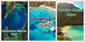 Dillere Destan Berrak Denizinde En Az Bir Kez Yüzmeniz Gereken Cennetten Köşe Tadında 15 Koy