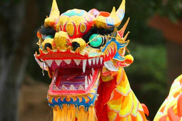 Çin'in Ejder'i filmlerden de tanıdık.