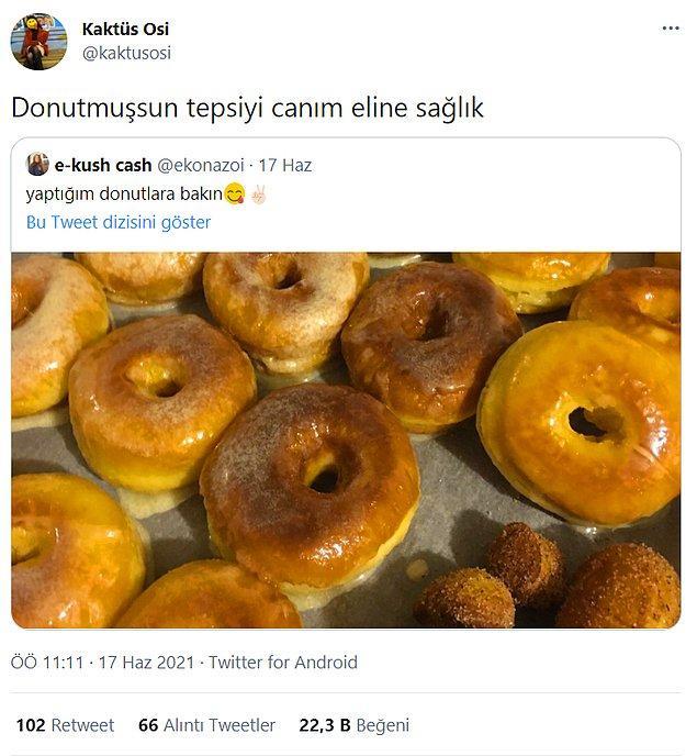 3. Masayı donut abi.