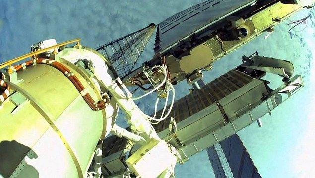 NASA'nın göreve ait paylaştığı fotoğrafların devamı; 👇