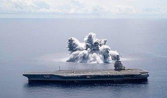 Amerikan Donanmasının 18 Tonluk Patlayıcıyla Gerçekleştirdiği Şok Denemesi