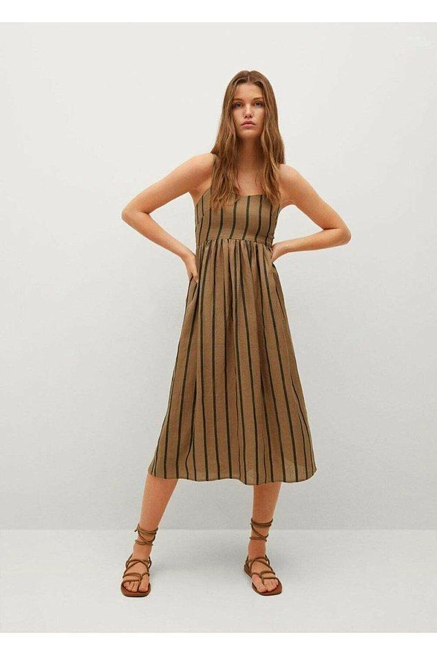 10. Çizgili elbiseler