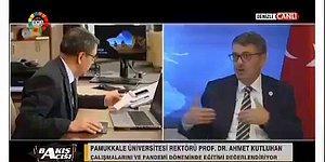 """Pamukkale Üniversitesi Rektörü """"Bir İlahiyatçı Arkadaştan Şifa Duası Temin Ettim Korona Hastası İyileşti."""""""