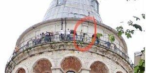 Galata Kulesi'nde 1 Ay İçinde İkinci İntihar! 18 Yaşındaki Genç, Atlayarak Yaşamına Son Verdi