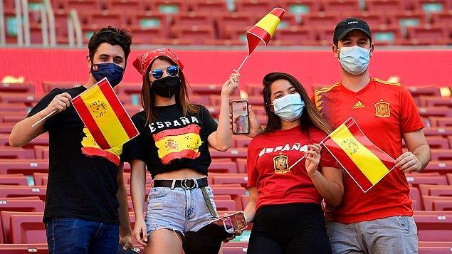 Ülkelerdeki Koronavirüs durumuna göre maçlara seyirciler alınabiliyor ve