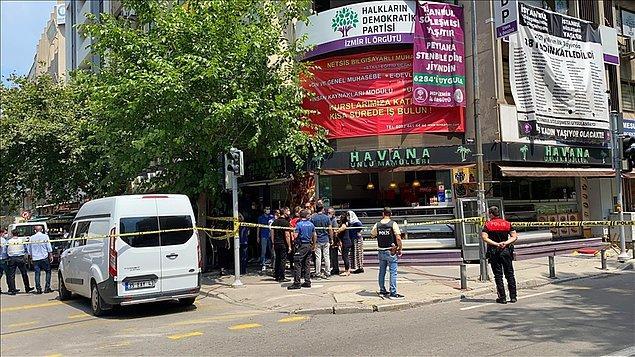İzmir'de HDP'ye saldırı: 'Planlı bir toplantı iptal edilmiş'