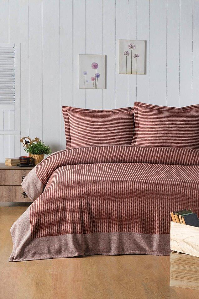 1. Çift kişilik yatak örtüsü seti