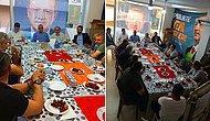 AKP İlçe Teşkilatından Tepki Çeken Paylaşım: Türk Bayrağını Yemek Masasına Serdiler