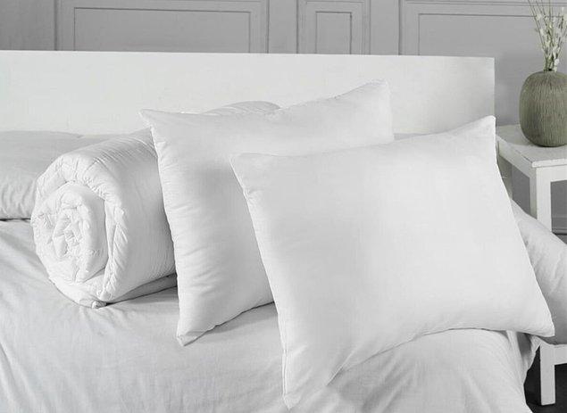 6. Antialerjik çift kişilik yorgan ve yastık seti