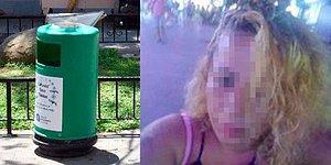 Bunu da Gördük! Caddede Düşük Yaptı Kadın Ölü Cenini Poşetle Çöpe Attı